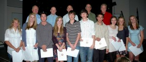 CB Rotary Scholarships 2011
