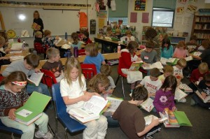 Dictionary Donation to kids at Crested Butte Community School 2009
