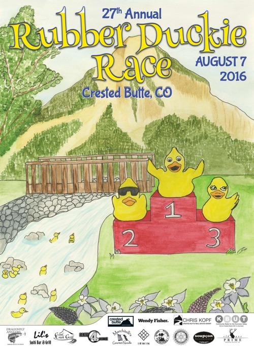 Crested Butte Duck Race 2016