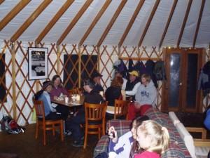 Rotary Yurt Social 2011