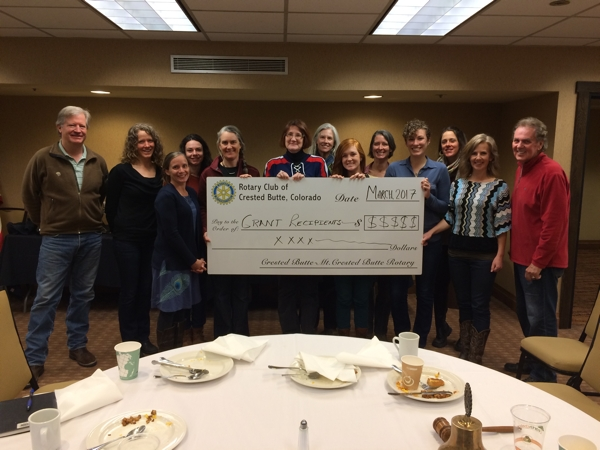 Crested Butte Rotary Grants